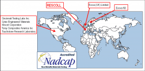 Nadcap NMMT in the world