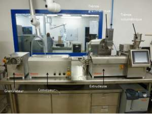 Extrudeuse medicale RESCOLL